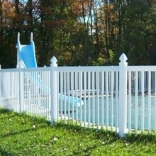PVC white strong plastic outdoor stair railings for sale