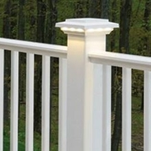 PVC outdoor balcony guardrails