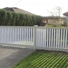 pvc balcony railing fences