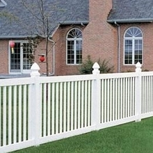 Vinyl Balcony Rail Fencing designs