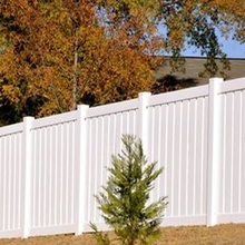 Maintenance free Flexible Plastic Private Fence