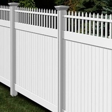 modern design Vinyl Garden Fence/some informations of pvc fence
