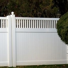 Vinyl Privacy Fence for Sale/how to use pvc fence panels