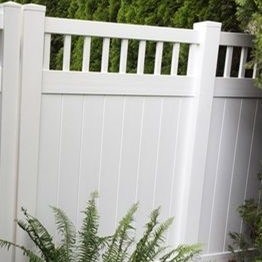 white color cheap pvc privacy fence /hot sales vinyl picket fence