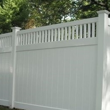 security garden lattice fence pvc