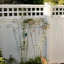 Factory Supply Attractive Price Pvc Materials Used Privacy Fence/white vinyl picket fence