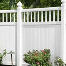 plastic yard fencing/how to install pvc fence/pvc fence prices