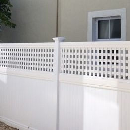 Vinyl garden portable privacy fence/the details of pvc fence