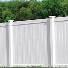 Maintenance free Flexible Potable Privacy Fence