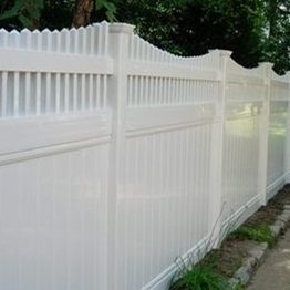 supplier Plastic Garden Fencing /what's the main market for vinyl fence?