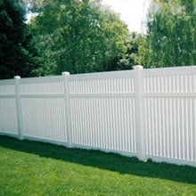 pvc plastic yard fencing designs
