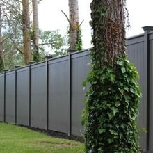 ASTM Standard 100% virgin material Plastic PVC Privacy fence