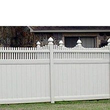 Free maintainance beautiful hot sale vinyl pvc plastic construction fence