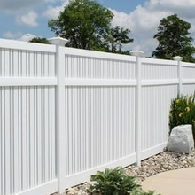 clear privacy garden vinyl fence panels/vinyl fence company/vinyl vs wood fence