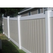 PVC Full Privacy Fence For Home