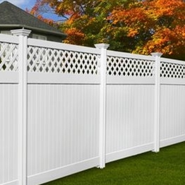Plastic lattice privacy fence for sale/where you can use the privacy fence ?