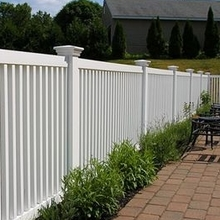 High security white plastic used pool fence white picket fence picket fence