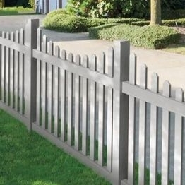 vinyl picket fence/how to install