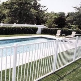 Fashion Design Top Quality Vinyl PVC Swimming Pool Fence lowes vinyl fencing