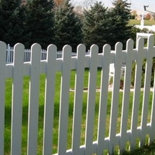 Outdoor pvc security home yard fence