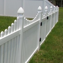 replacement vinyl fence pickets/Different from wooden fences