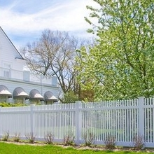 PVC Vinyl Fence Plastic Picket Fence Picket Fencing