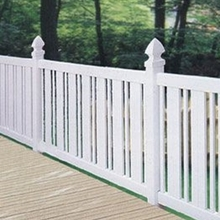 UV Proof White PVC Garden Fence Picket fence