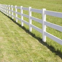 Vinyl Horse fence panel supplier Farm fencing