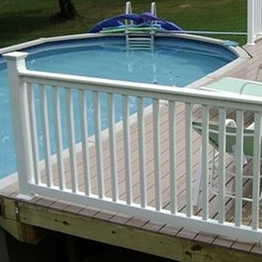 Top Quality Vinyi Swimming Pool Safety Fence how to install fence post