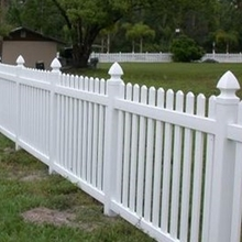 Vinyl PVC Picket Garden Fence Manufactory Price Fencing