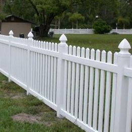home depot vinyl picket fence/A fence suitable for family gardens