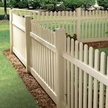 vinyl picket fence/how to install?