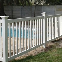 Vinyl portable swimming pool fence used pool fence morden designs easy install lowes vinyl fence panels