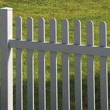 vinyl fence pickets/Easy Installation