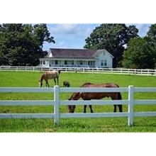 Hot Sale 3 Rails PVC Horse Fence