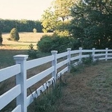 Plastic Ranch Pastural Farm PVC Fence