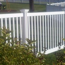 Above Ground Swimming Pool Fence how to use vinyl fence