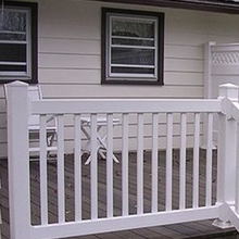 Easy Installation PVC Swimming Pool Fence