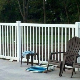 protected Temporary Picket Fence / pvc pool fence how to install pvc fencing  /What's the function of the pool fence?