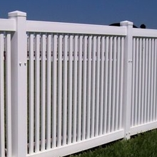 vinyl swimming pool fence / white vinyl fence panels  /pvc fencing / some tips to use pvc pool fence