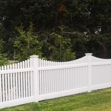 is the vinyl picket fence weatherable?