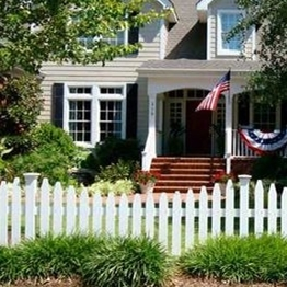vinyl picket fence for decoration and security/what's height of picket fence/what's function of vinyl picket fence