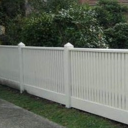 Wholesale High quality Safety removable stair railing /white plastic fence vinyl fence /pool accessory hooks