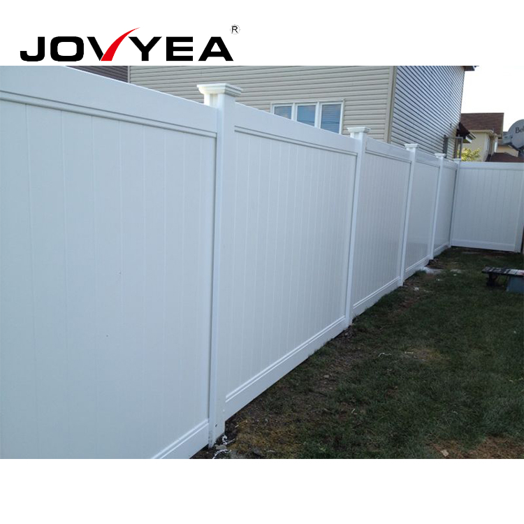 High Quality And Easy Installation Vinyl Fence For Home