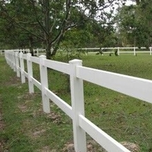 2 rail horse fence .It's suitable for large animals