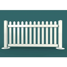 PVC Temporary fence panels & portable event fencing