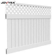 How to assemble Jovyea pvc fence? Easy to install fences by yourself.