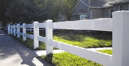 How to Put up a Vinyl Fence
