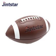 customer logo training Rugby ball Machine sewn pu pvc leather American football manufacturers