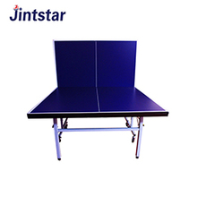 Hot selling cheap Outdoor waterproof portable folded table tennis table with wheel